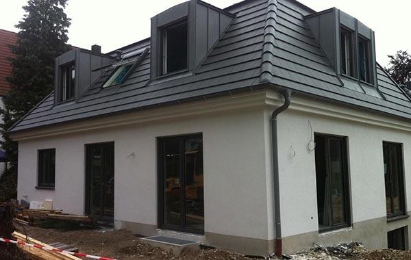 Gräfelfing Neubau zwei Einfamilienhäuser