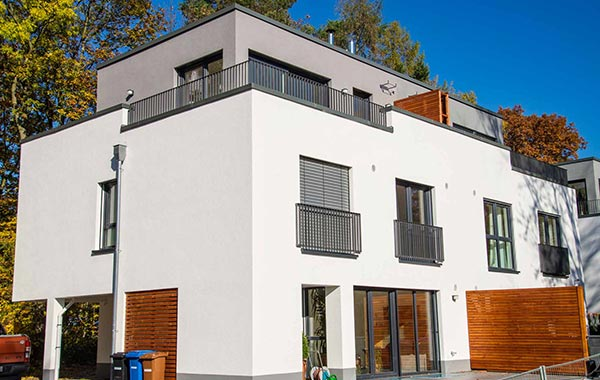 Kornberg Neubau 6 Doppelhaushälften