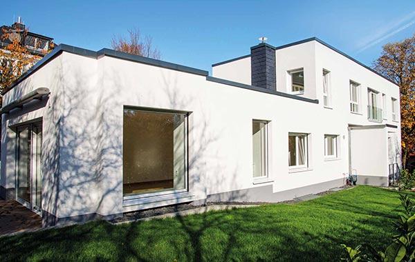 Kronberg Aufstockung und Sanierung Einfamilienhaus