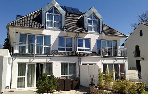 München Neubau Einfamilienhaus und Doppelhaus